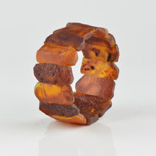 Load image into Gallery viewer, Unpolished Raw Amber bracelet HM01