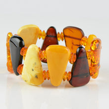 Load image into Gallery viewer, Unique Amber bracelet 8348