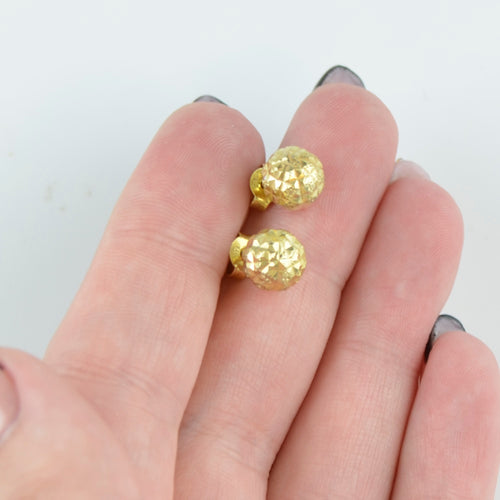 Minimalist earrings for girls Gold BV07