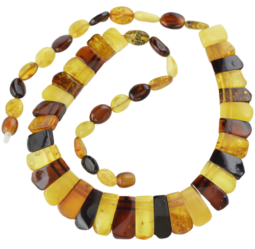 Kolje Baltic amber necklace