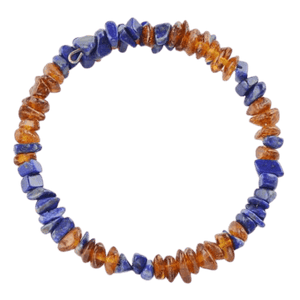 Lapis lazuli with Baltic amber amberlila-shop.myshopify.com