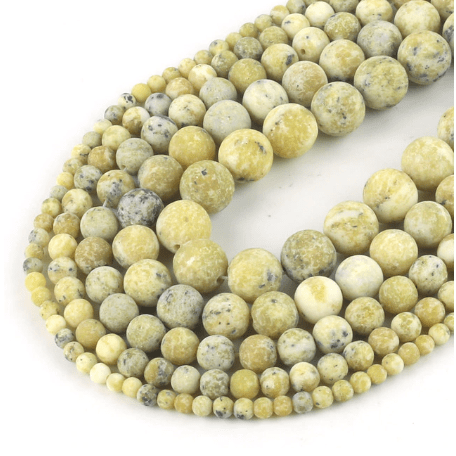 Matte Light Turquoise Beads for jewelry making amberlila-shop.myshopify.com