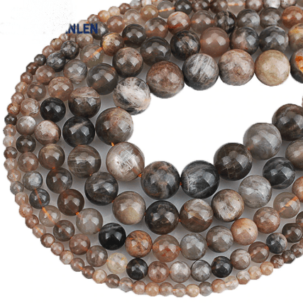 Moonstone Beads for jewelry making amberlila-shop.myshopify.com