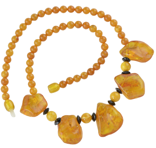 New style Baltic amber necklace