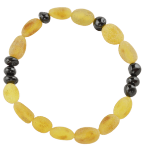 Raw Amber bracelet with polished amber