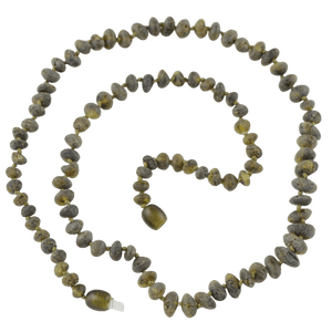 Raw Baltic amber necklace amberlila-shop.myshopify.com