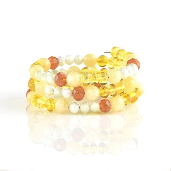 Amber bracelet with genuine natural amber amberlila-shop.myshopify.com
