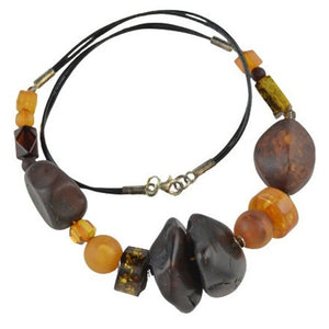 Amber necklace gift idea OP09