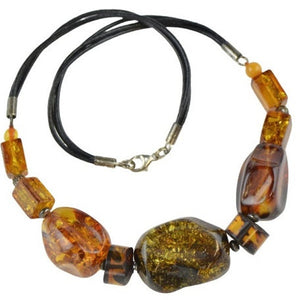 Wife gift idea - Amber necklace OP11