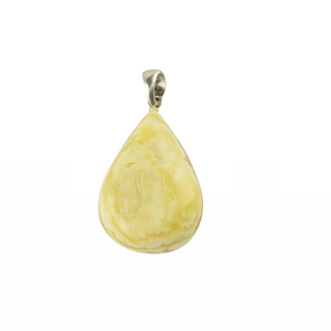 Polished Amber pendant jewellery