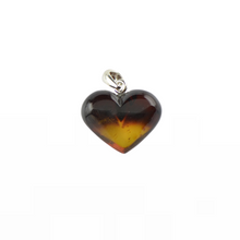 Load image into Gallery viewer, Heart Amber pendant