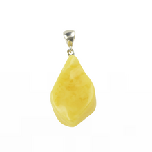 Load image into Gallery viewer, Opaque Natural Amber pendant