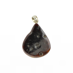 Brown Amber pendant jewelry