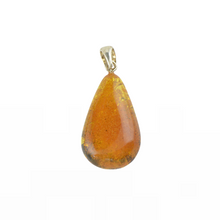Load image into Gallery viewer, Baltic Amber pendant Handmade stone