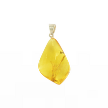 Load image into Gallery viewer, Yellow Drop Amber pendant For Her