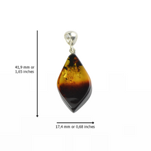 Load image into Gallery viewer, Amber pendant jewelry
