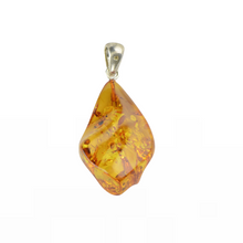 Load image into Gallery viewer, Cognac Baltic Amber pendant jewellery