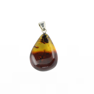 Natural Baltic Amber pendant jewelry