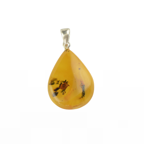 Genuine Baltic Amber pendant jewellery