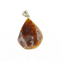Load image into Gallery viewer, Green Baltic Amber pendant jewellery