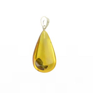 Certified Amber pendant