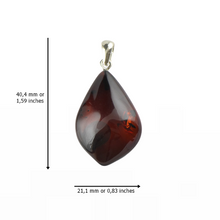 Load image into Gallery viewer, Amber pendant Gift idea for Christmas