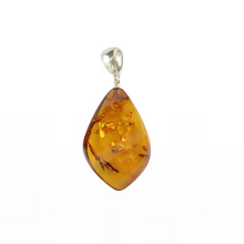 Load image into Gallery viewer, Cognac Baltic Amber pendant Gift for Christmas