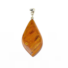 Load image into Gallery viewer, Cognac Jewelry gift Amber pendant