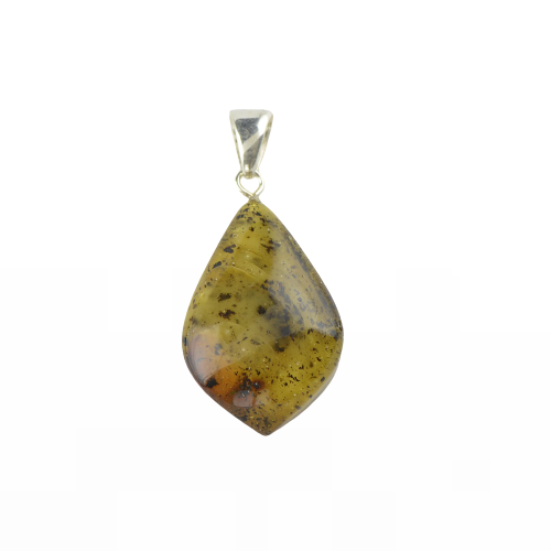 Baltic Amber pendant with natural amber