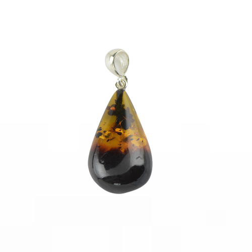 Natural Baltic Amber pendant for Her