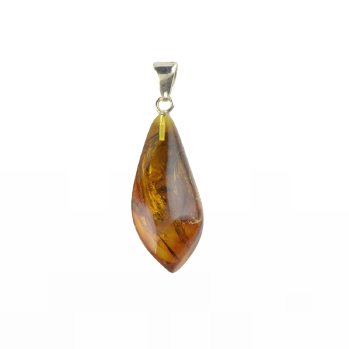 Amber pendant natural color