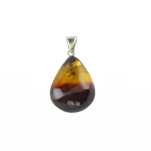 Amber pendant natural two colors