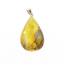 Load image into Gallery viewer, Amber pendant jewelry shop