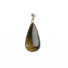 Load image into Gallery viewer, Amber pendant dark green