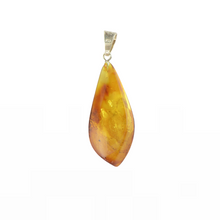 Load image into Gallery viewer, Amber pendant with natural amber stone