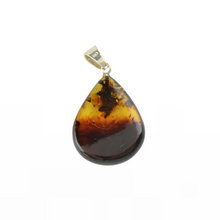 Load image into Gallery viewer, Amber pendant with 2 colors