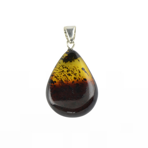 Baltic Amber pendant 2 colors