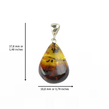 Load image into Gallery viewer, Baltic Amber pendant women's jewelry