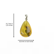 Load image into Gallery viewer, Small Amber pendant for women gift