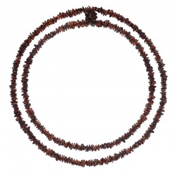 Chips Baltic amber necklace 130 cm amberlila-shop.myshopify.com
