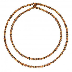 Baltic amber Chips necklace 130 cm amberlila-shop.myshopify.com
