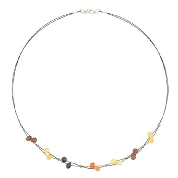 Baroque amber necklace amberlila-shop.myshopify.com