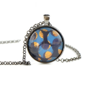 Glass dome necklace HST57