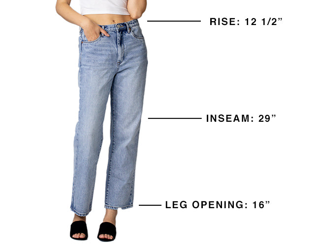 The Howard Women S Mid Rise Loose Fit Jean Blank Nyc This loose fit beauty will look so good and stylish paired with anything from midi dresses to straight leg jeans and utility pants. mid rise loose fit jean blank nyc