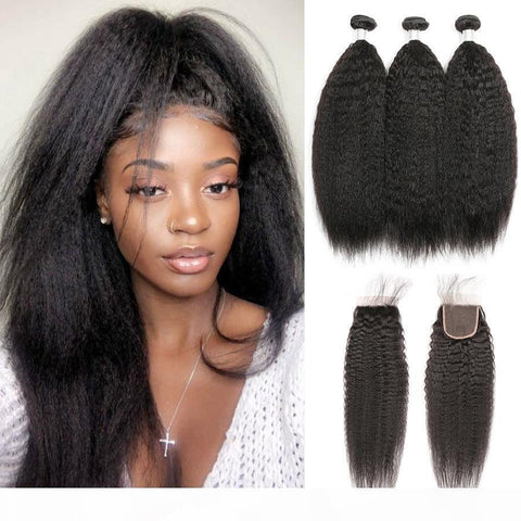 Brazilian Yaki Straight Human Hair