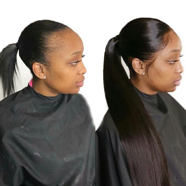 Long Straight Ponytail