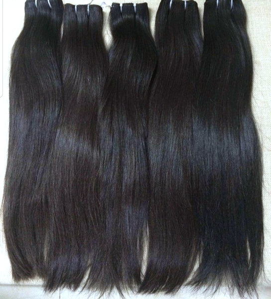Raw Unprocessed Brazilian Straight Bundles