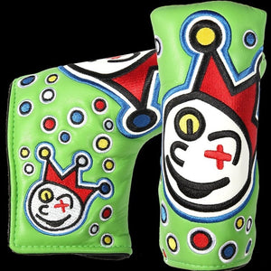 New Golf putter clown joker cover Blade Putter Headcover cameron Johnny jackpot blade putter scotty headcovers