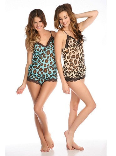 Meooow Cami Set (Mint Chip)