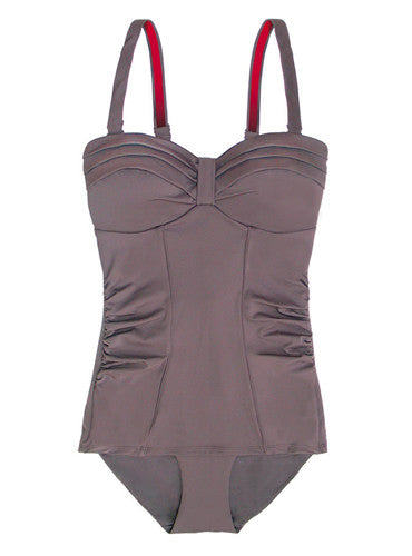 Mirage Shapewear Swimsuit (Smoked Quartz)